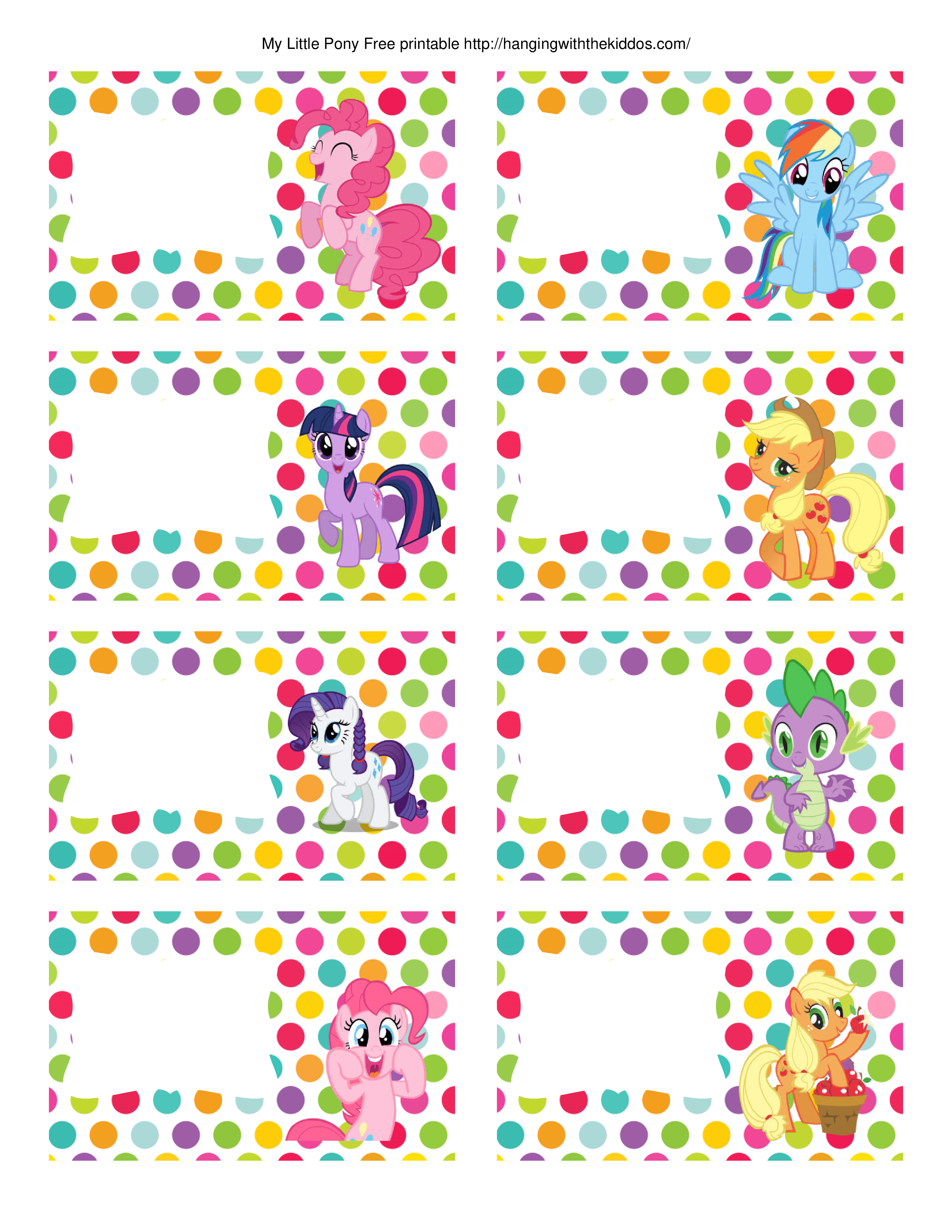 Super Cute Collection Of Free My Little Pony Party