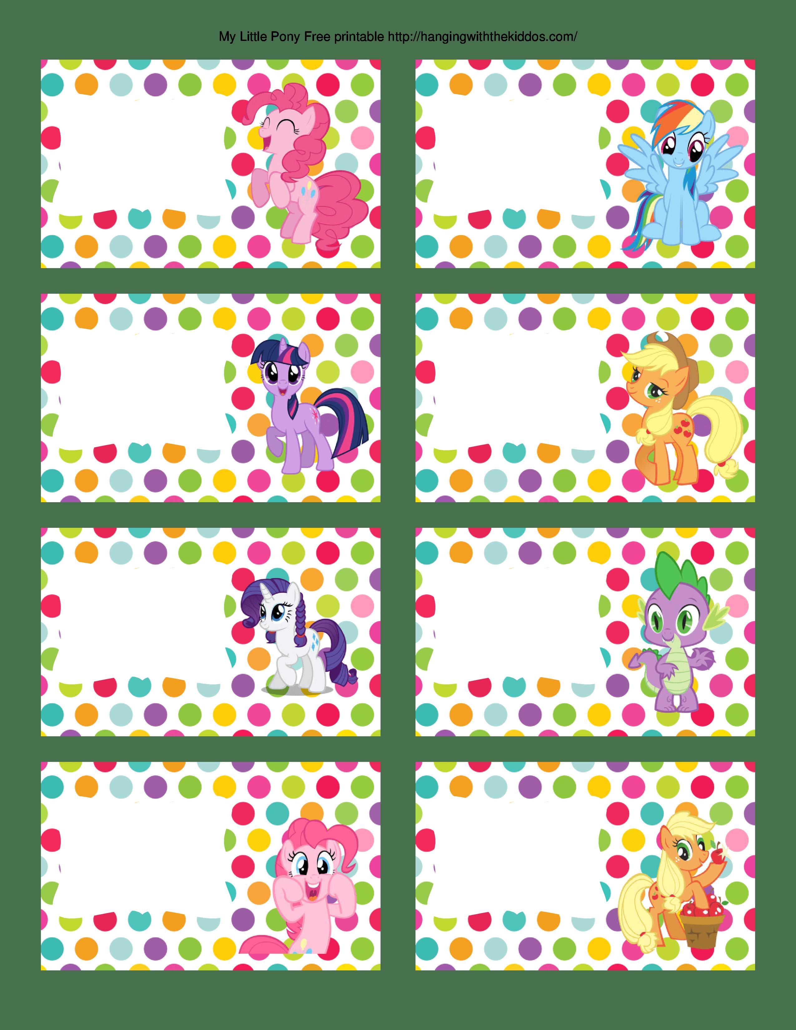 25 My Little Pony Party Ideas Freebies