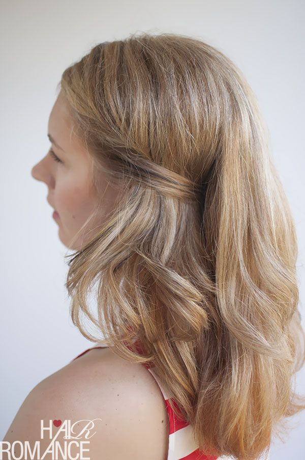 Two Easy Ways To Pin Back Your Hair Hair Romance Hair Romance Hair Styles Hair Tutorial