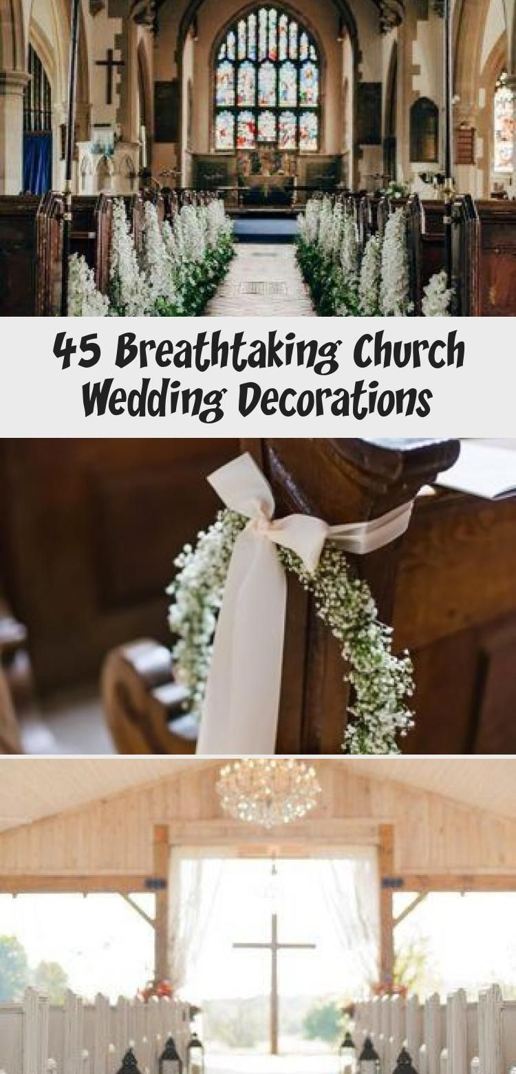 45 Breathtaking Church Wedding Decorations Wedding In 2020 Wedding Decorations Church Wedding Decorations Red Wedding Decorations