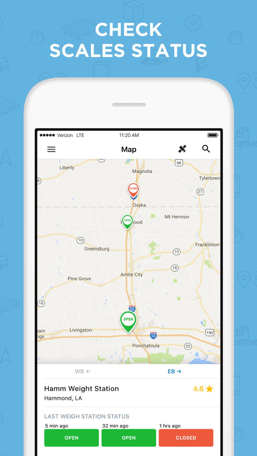 Trucker Path iosappsappTravel App, Html design