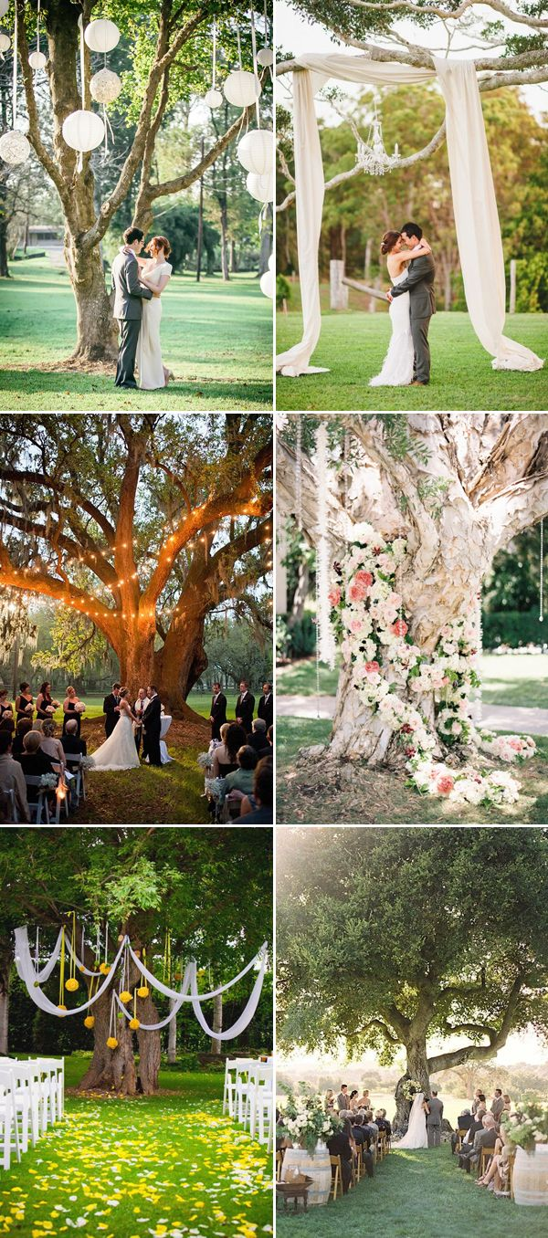 30 Creative Ideas to Decorate Your Outdoor Wedding Ceremony! - Praise  Wedding | Outdoor wedding, Garden weddings ceremony, Wedding ceremony