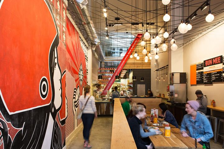 Bun Mee Vietnamese Sandwich Shop By Zero Ten Design San Francisco