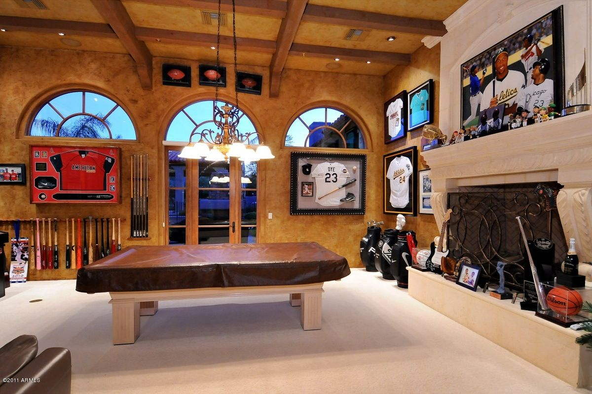 Man Cave Bar Games : Luxury man cave game room bar caves