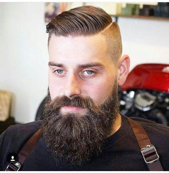 Fade Ande Long Beard Capelli Baffi Barba
