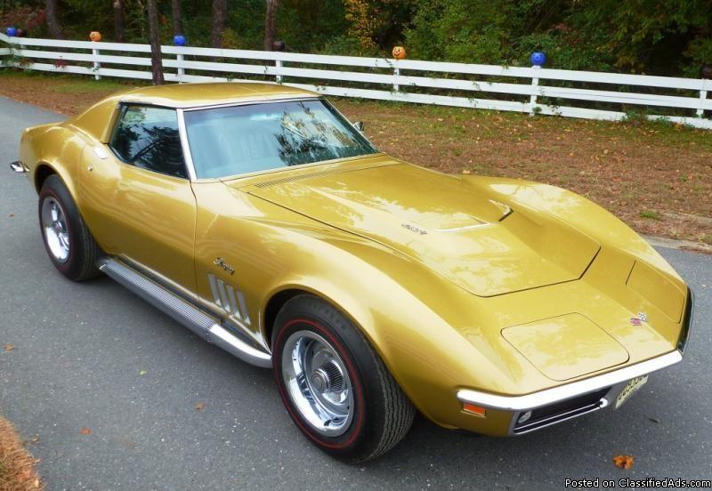 1969 Chevrolet Corvette Stingray Riverside Gold Corvette