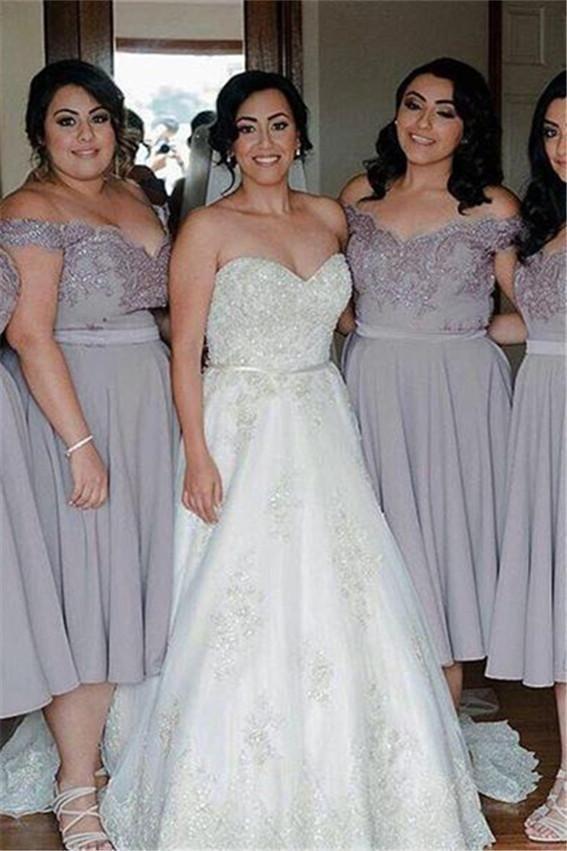 Pin by comigo on Bridesmaid dresses | Pinterest | Tea length ...