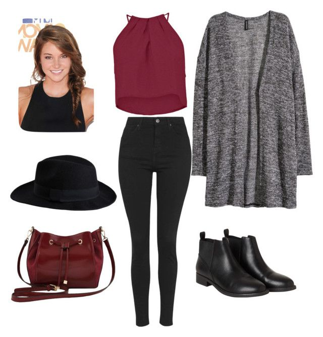 """""""Untitled #131"""" by maysnow on Polyvore featuring H&M, Topshop, Boohoo, Monki, M&Co and Pieces"""