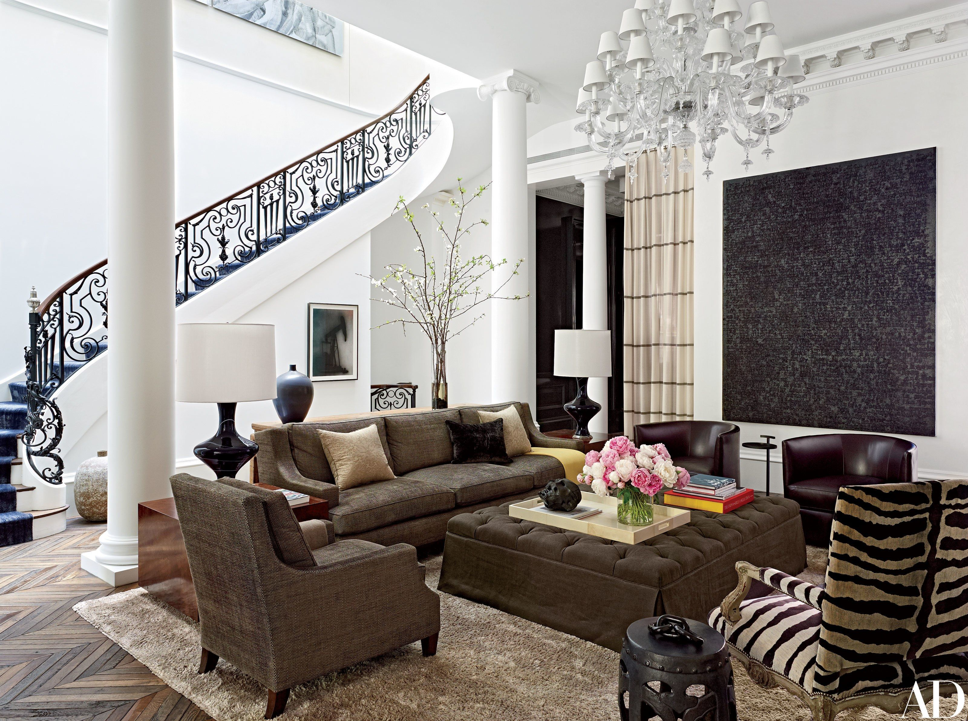 A Historic Boston Townhouse Gets A Glam Update. Design FirmsArchitectural  ...