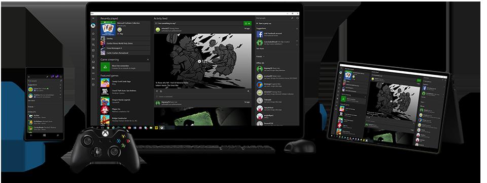 Xbox app bèta hint naar streamen van Xbox games naar
