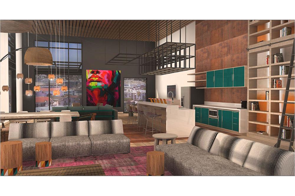 La Plaza Cultura Village Degen Degen Village Interior Design Retail Space