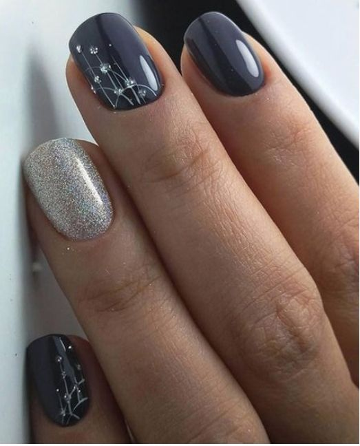 New Lovely Nail Art Designs to Look Beautiful on Party - Pin By Kristen Lucas On Nail Ideas Pinterest Nail Nail, Makeup