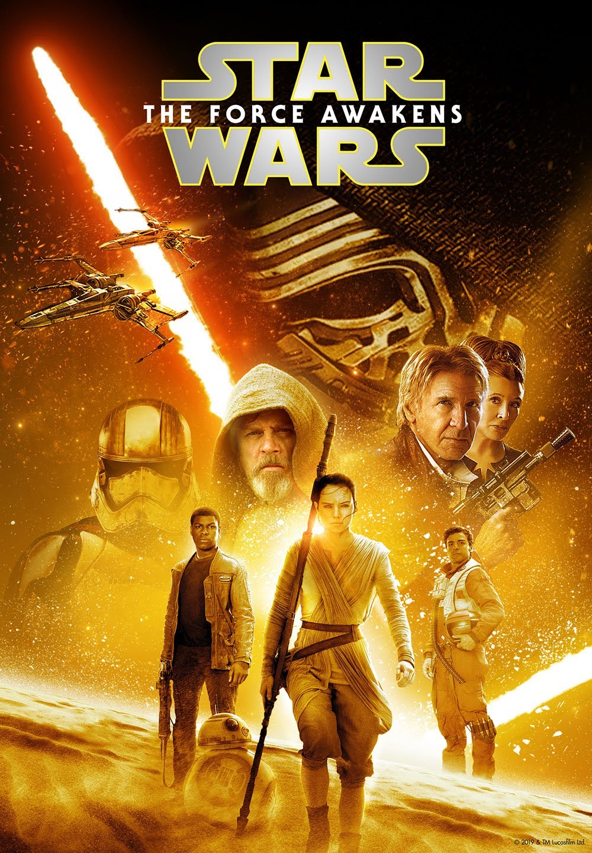 High resolution Disney+ Star Wars posters