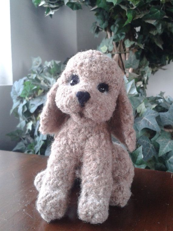 Needle Felted Poodle Dog OOAK Handmade Cute by