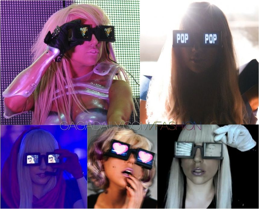"Lady Gaga /""Gaga/"" Glasses"