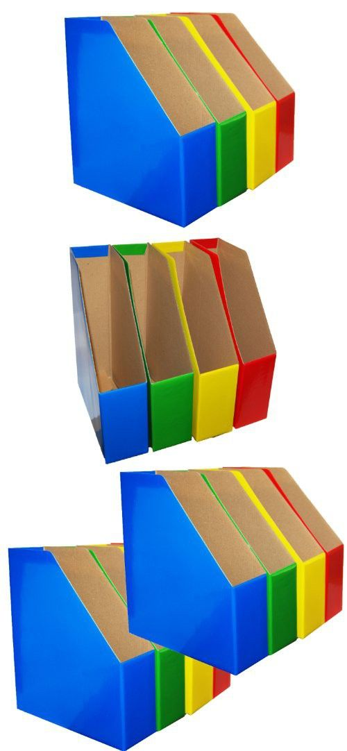 Magazine File Holders Bold Colors Coordinate Important Files By Impressive Colorful Magazine Holders