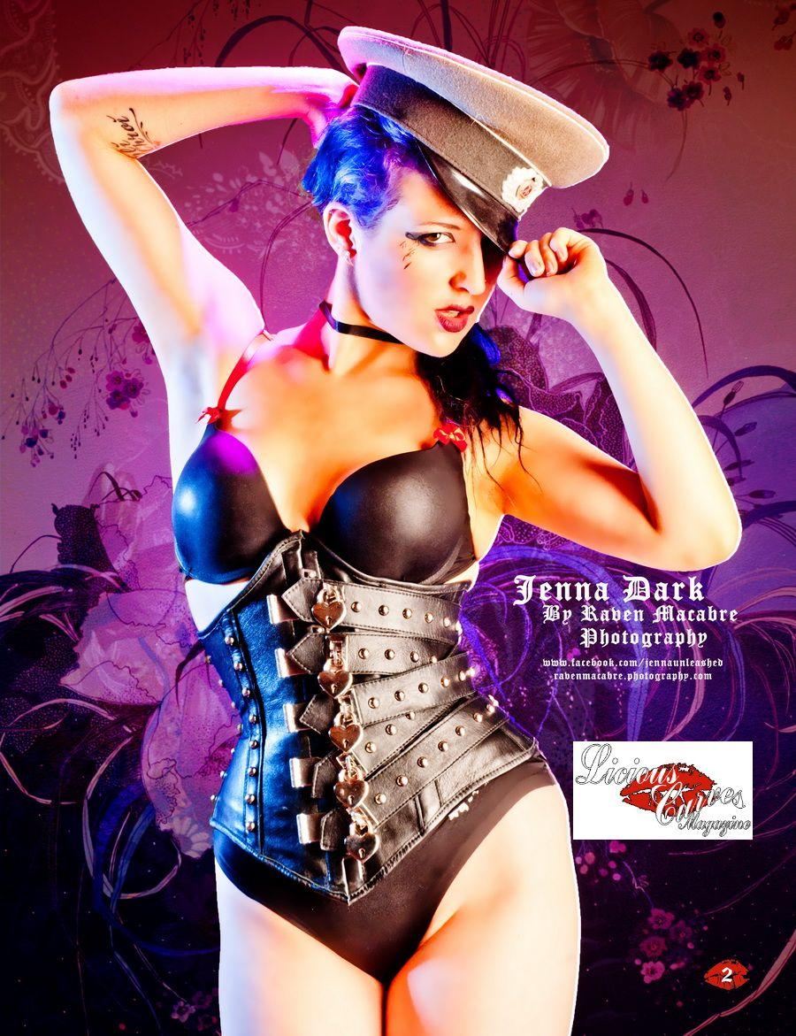 61f8c52871 Enrapture light BDSM lockable leather corset by JanesCorsets