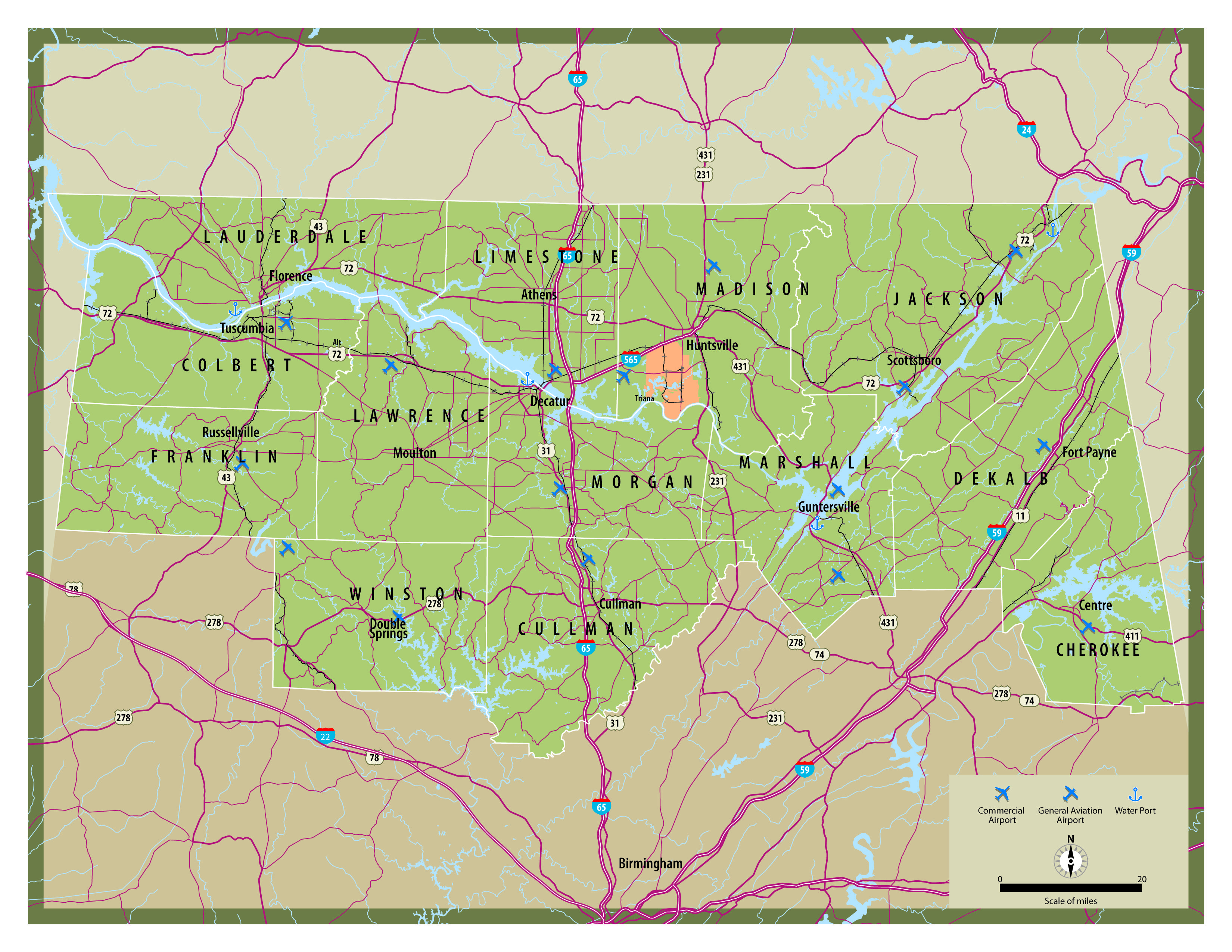 university of alabama campus map with Map Of North Alabama on Map in addition Parking moreover File University of Alabama at Birmingham C us from Vulcan likewise Accredited Ultrasound Technician Schools In Memphis Tennessee besides 25 Maps That Explain College Football.