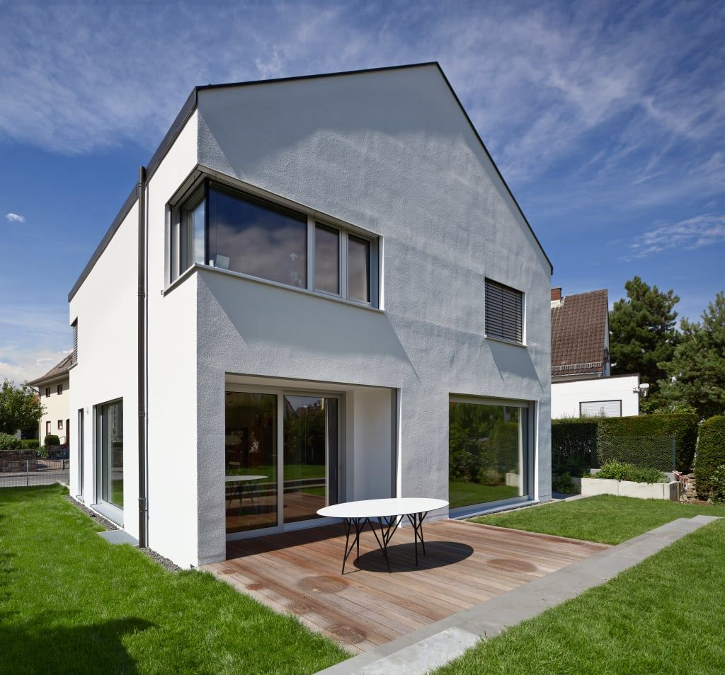 Gartenansicht Mit Terrasse: Häuser Von Marcus Hofbauer