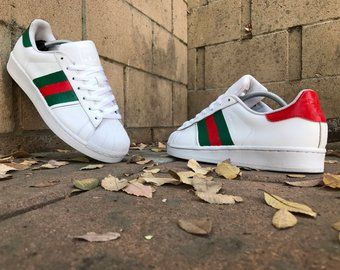 Adidas superstar Gucci custom