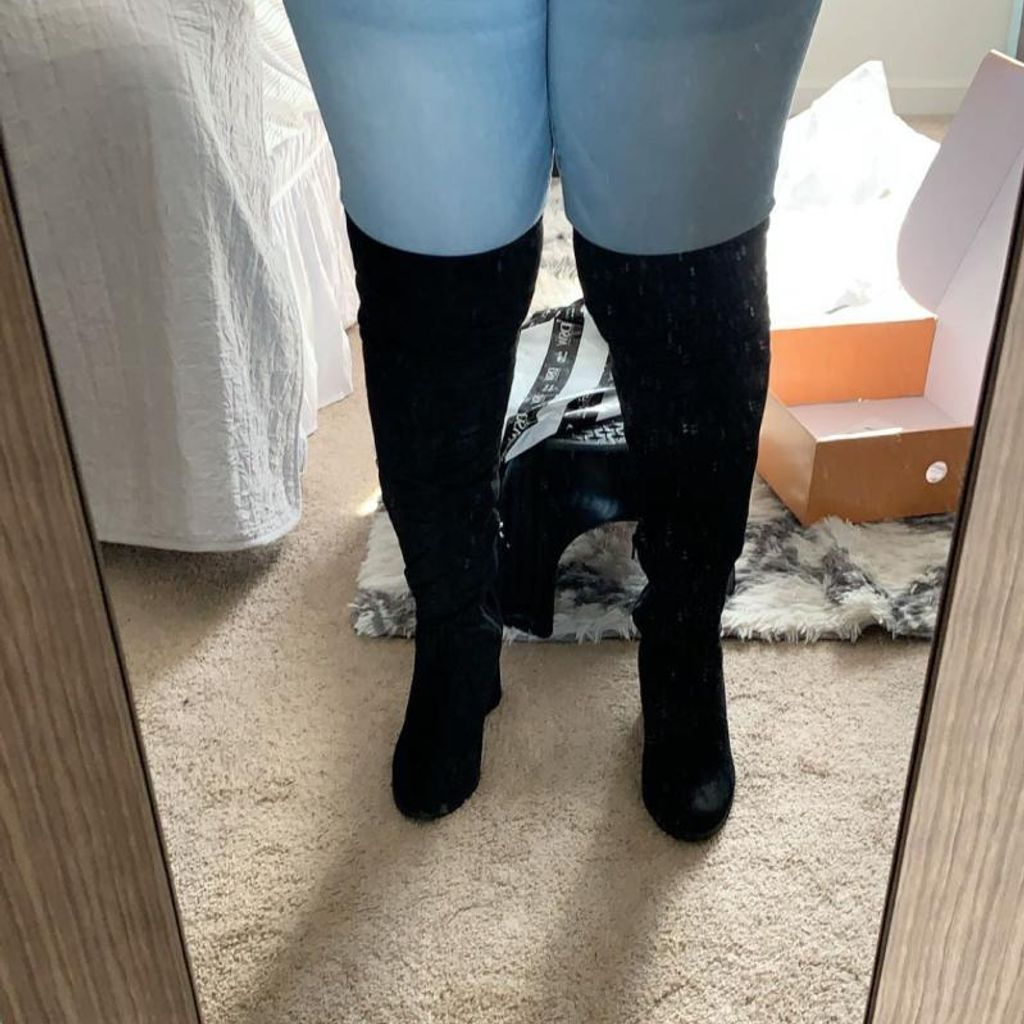 Unisa Dynna Wide Calf Over The Knee