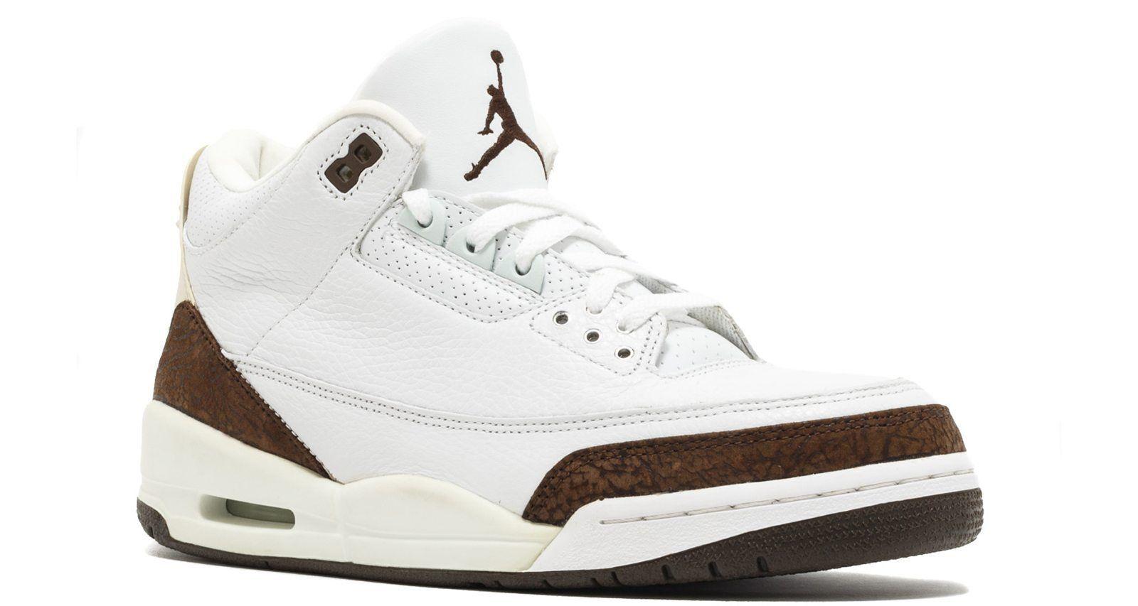 """Nike Air Jordan 3 """"Mocha""""  d1ebd7176"""