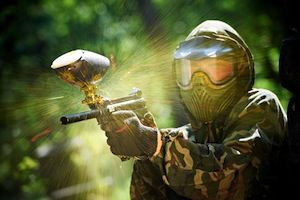 Any paintball fans? Here is the evolution of paintball as a sport