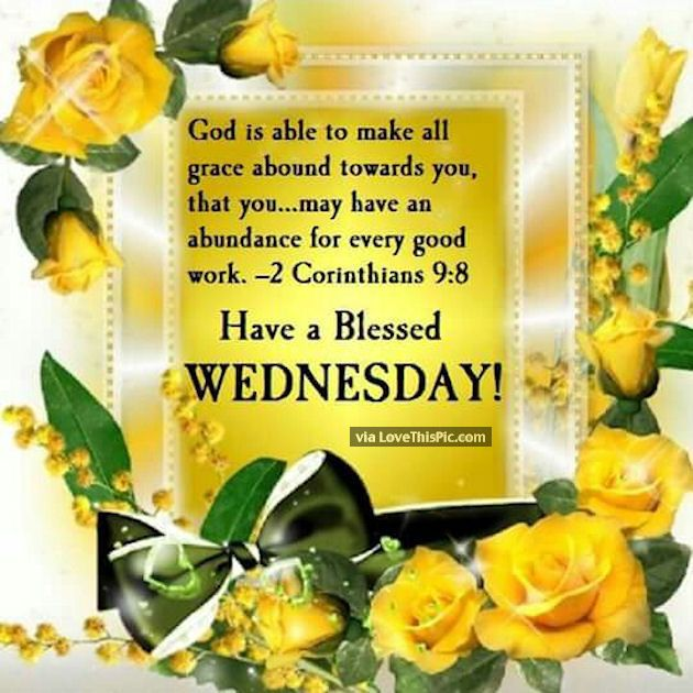Bible Quote Wednesday Good Morning Image Catds Blessed Wednesday