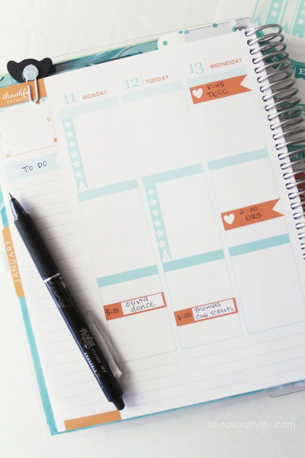 how to create planner stickers with your cricut cricut ideas from