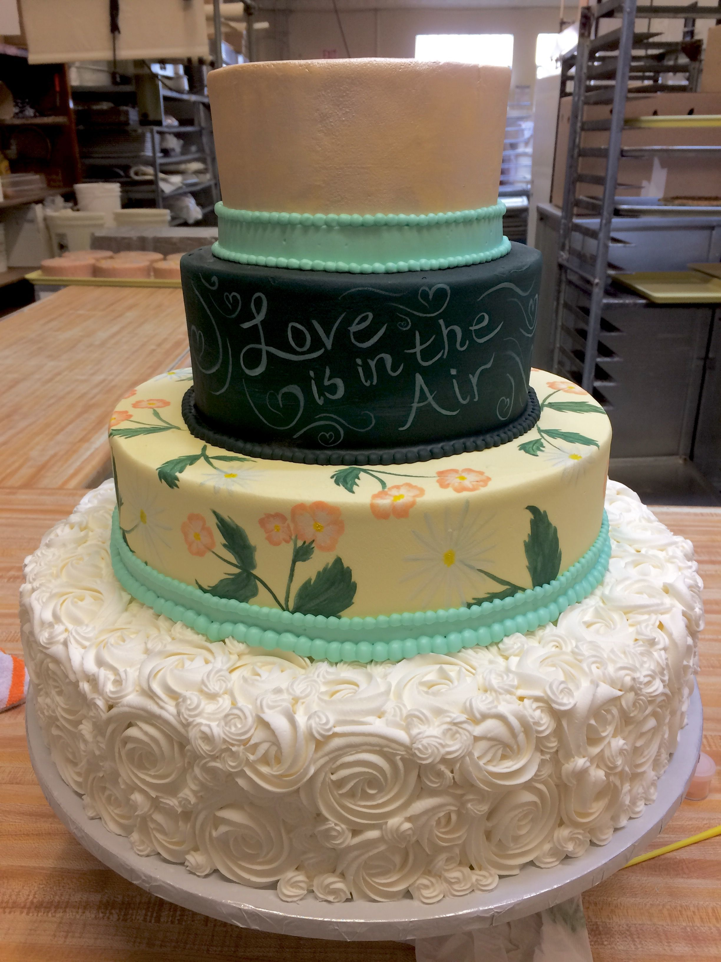 Wedding Cake Westhampton Pastry Richmond Va Chalkboard Cakeart Weddingcake