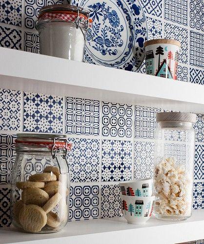 Fliesen In Der K 252 Che Patchwork Kitchen Patchwork Tiles