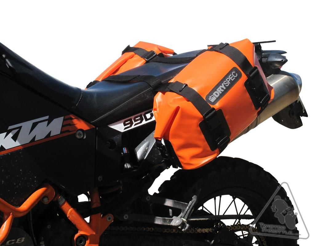 Dryspec d20 waterproof motorcycle drybag saddle bag system in dryspec d20 waterproof motorcycle drybag saddle bag system in black grey orange fandeluxe Image collections
