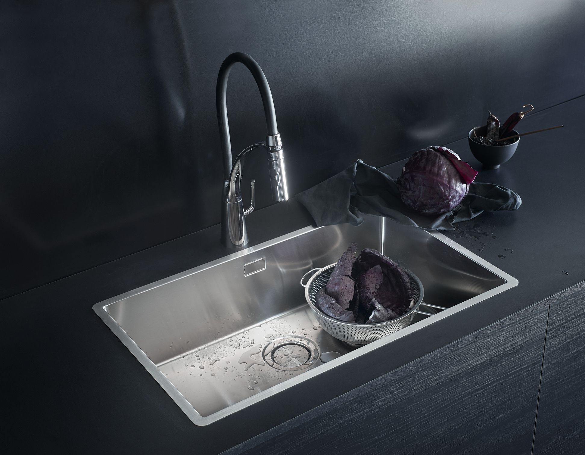 Drop In Sink From Ikea Is Good For A Wood Cutting Board Counter Kitchen