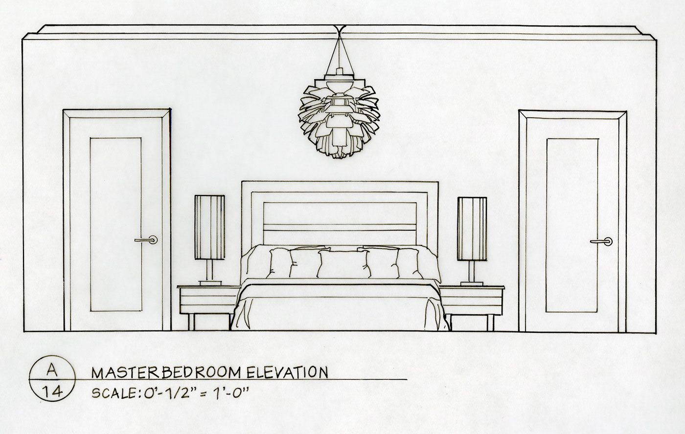 Detailed Elevation Drawings Kitchen Bath Bedroom on