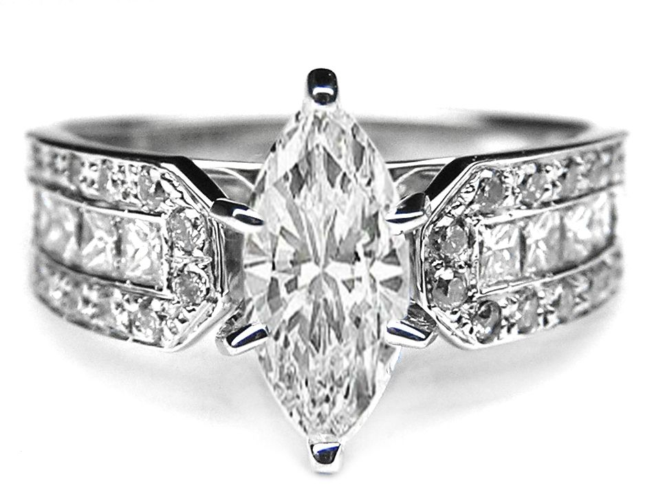 vintage engagement rings - Marquise Wedding Rings