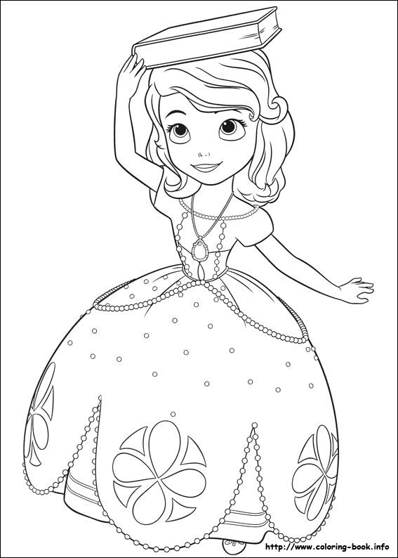 Sofia the First coloring picture | Coloring Pages 2 | Pinterest ...