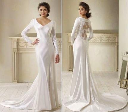 Photo of Dawn Saga Bella's Wedding Dress