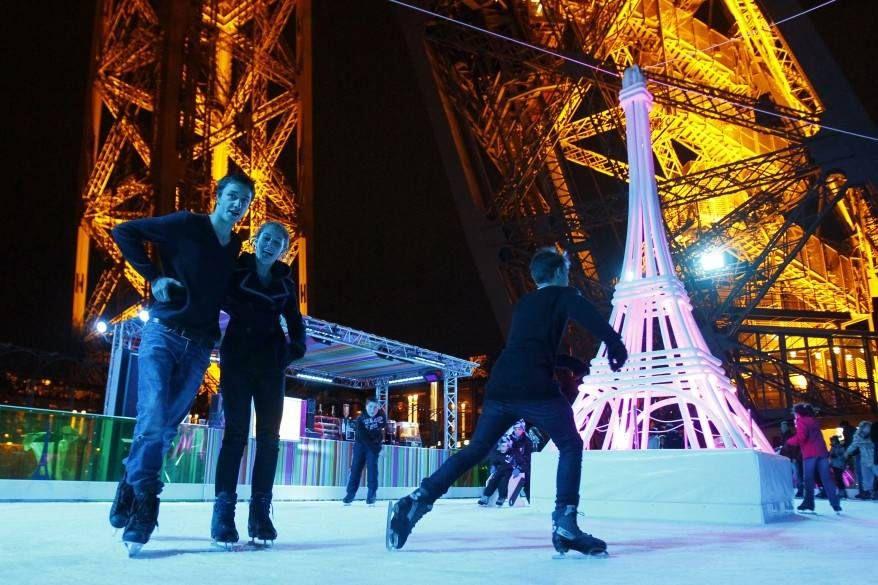 Paris in winter5 ice skating places