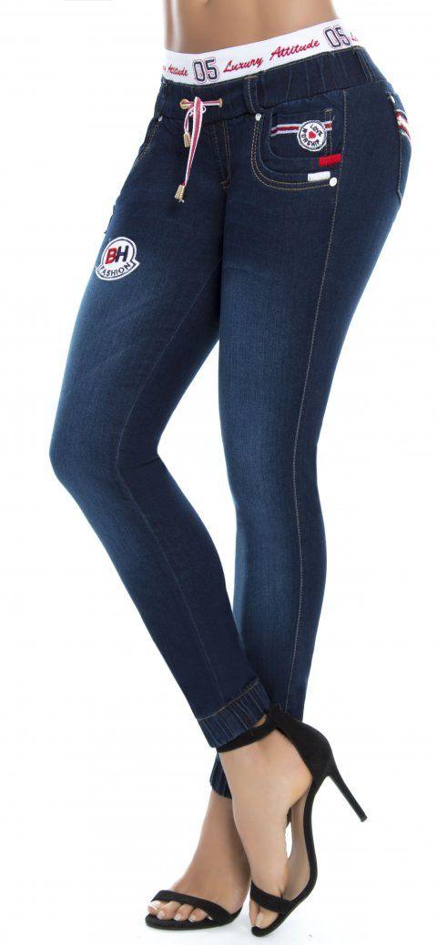 66a69b3616 Jeans levanta cola WOW 86319 Azul
