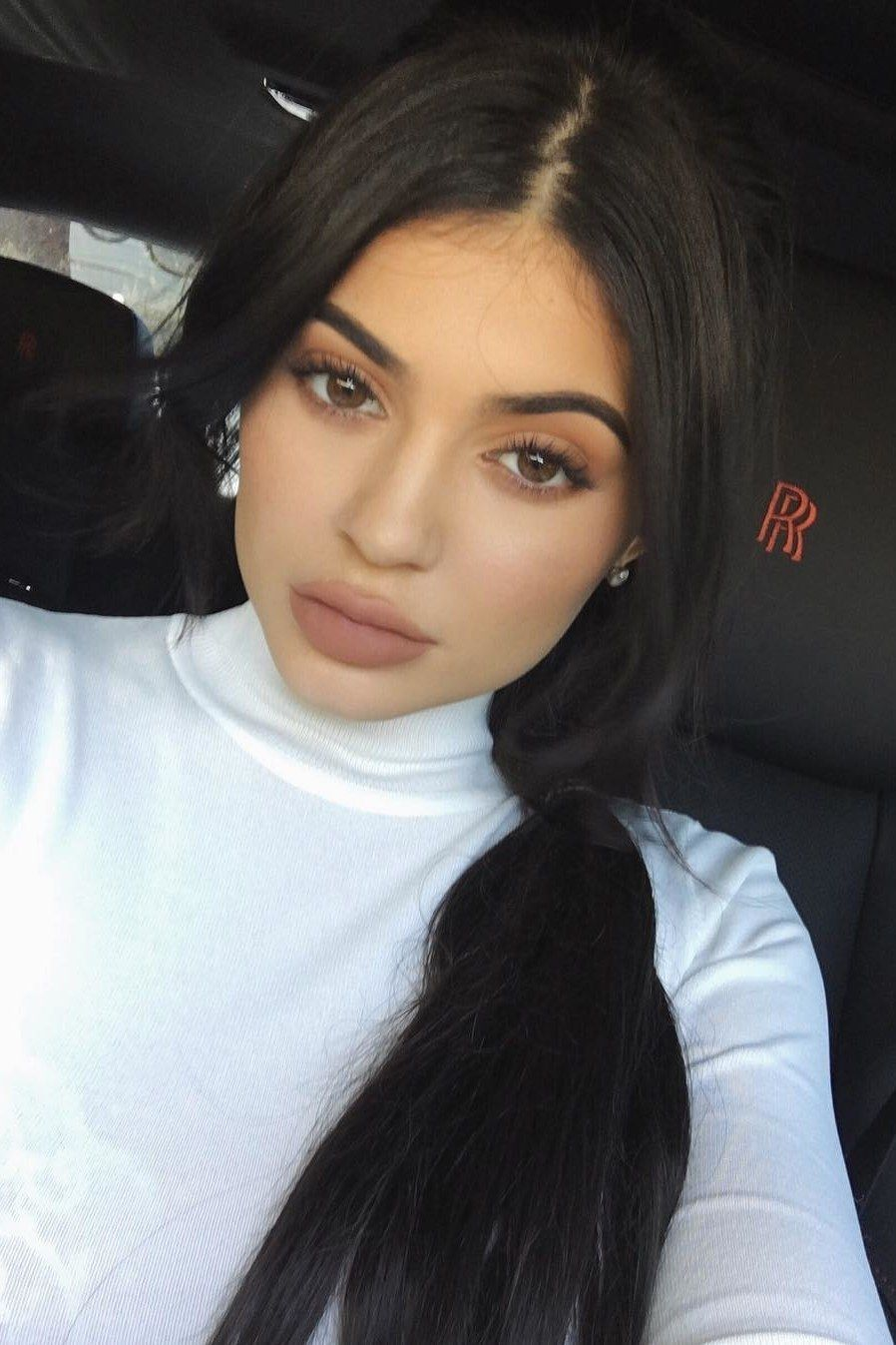 Kylie Jenner S Braided Ponytail Is The Perfect Lazy Girl Hairstyle Lazy Girl Hairstyles Jenner Hair Kylie Jenner Hair
