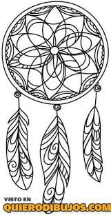 Atrapasuenos Para Colorear Google Search Dream Catcher Coloring Pages Coloring Pages Free Printable Coloring Pages