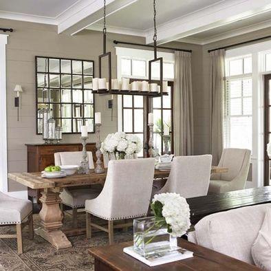 dining room design ides pour la maison pinterest einrichten und wohnen inneneinrichtung und esszimmer - Wohnzimmer Ideen Keramik Scheune Stil