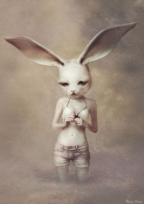 Surreal Illustration by Ryohei-Hase