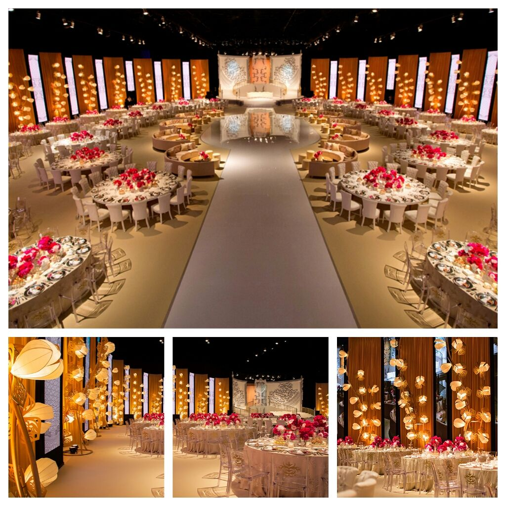 Nigerian wedding decoration images  Nigerian Wedding  Mindblowing Luxurious Wedding Reception Decor