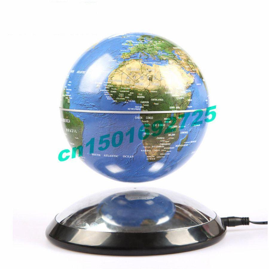 6 Inch Creative Magnetic Levitation Floating Globe World