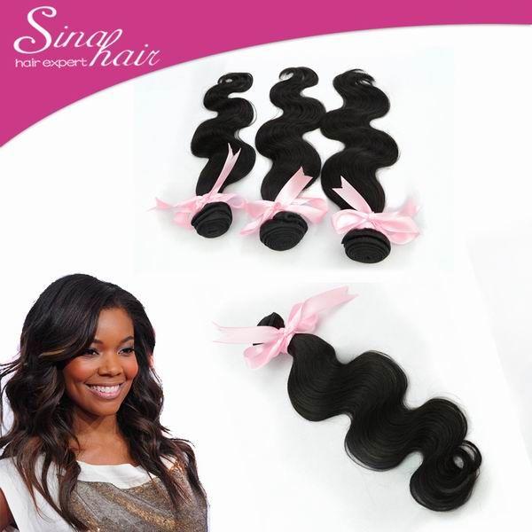 8-28 Inch Brazilian Human Hair Weaves Body Wave Sina Virgin Human Hair