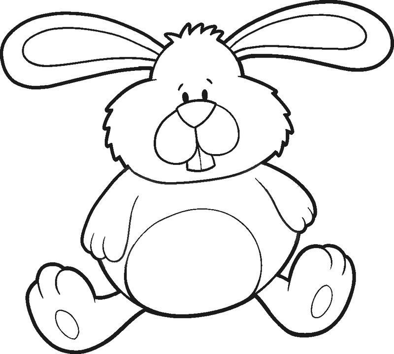 50 cute bunny coloring pages for kids activity in 2020