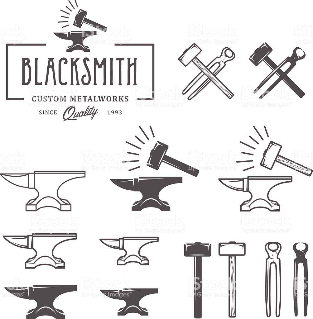 Blacksmith Vintage Emblems: Image Result For Blacksmith Designs