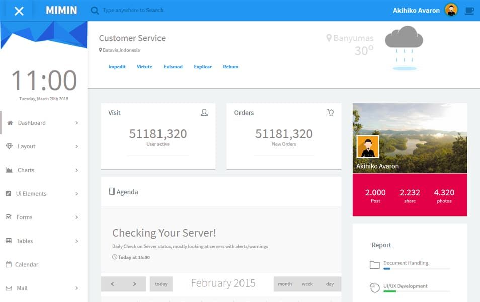 110 top best free bootstrap admin templates 2019 check