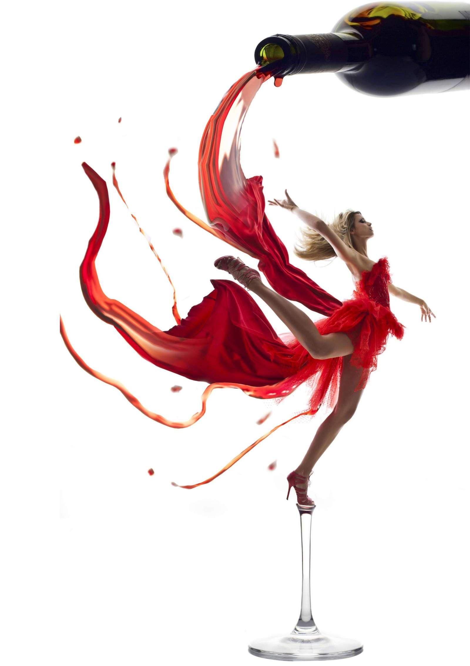 Photomanipulation Wine Photography Wine Art Red Wine